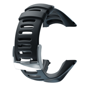 SUUNTO AMBIT3 RUN BLACK ELASTOMER STRAP
