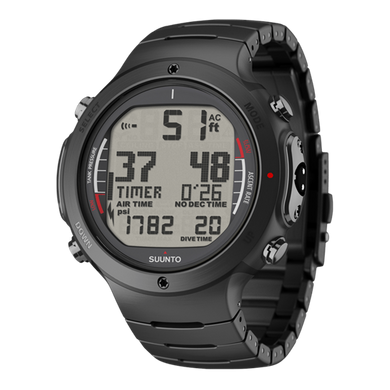 SUUNTO D6I ALL BLACK STEEL WITH USB