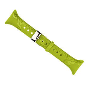 SUUNTO M-SERIES LIME ROPE PATTERN STRAP