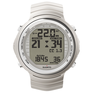 SUUNTO DX SILVER TITANUIM WITH USB