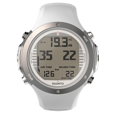SUUNTO D6I NOVO WHITE WITH USB