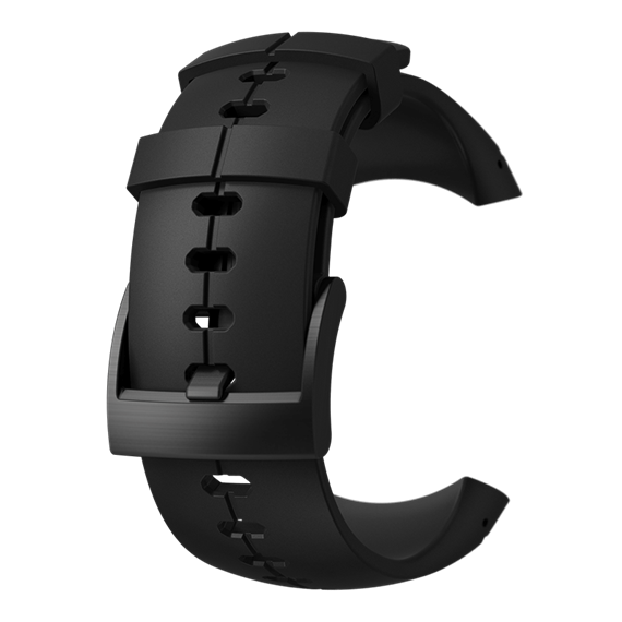 SUUNTO SPARTAN ULTRA ALL BLACK SILICONE STRAP