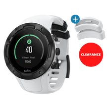 SUUNTO 5 WHITE BLACK