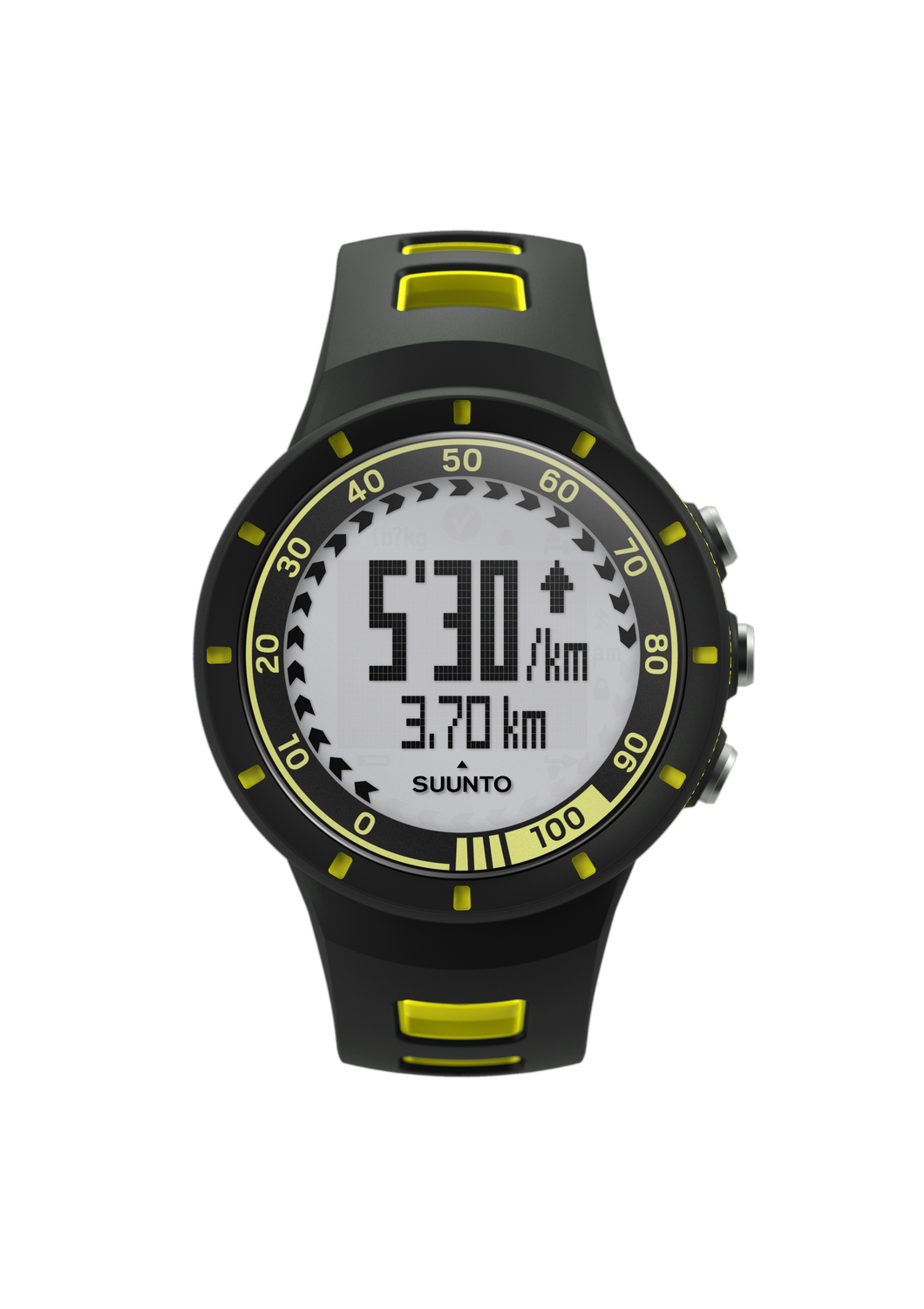SUUNTO QUEST YELLOW + MOVESTICK MINI