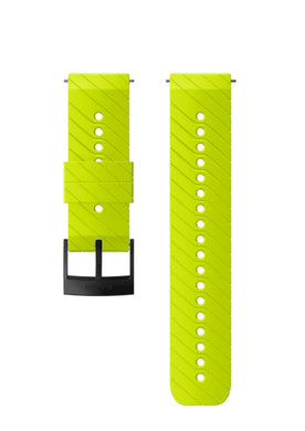 SUUNTO 24MM ATHLETIC 3 SILICONE STRAP LIME/BLACK M