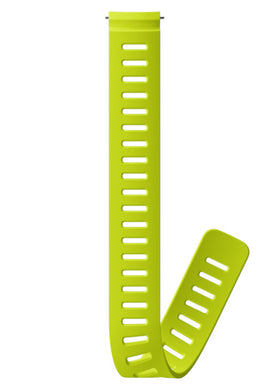 SUUNTO 24MM DIVE 1 SILICONE EXTENSION STRAP LIME XL