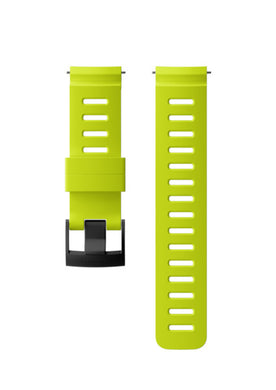 SUUNTO 24MM DIVE 1 SILICONE STRAP LIME/BLACK M