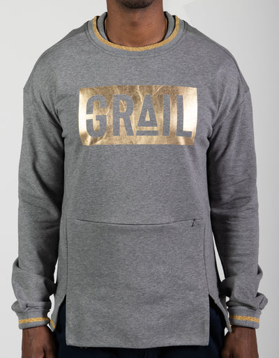 Men's Gold GRAIL Logo Sweatshirt