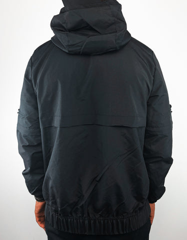 GRAIL x We.Society Men's Black Waterproof Anorak Jacket