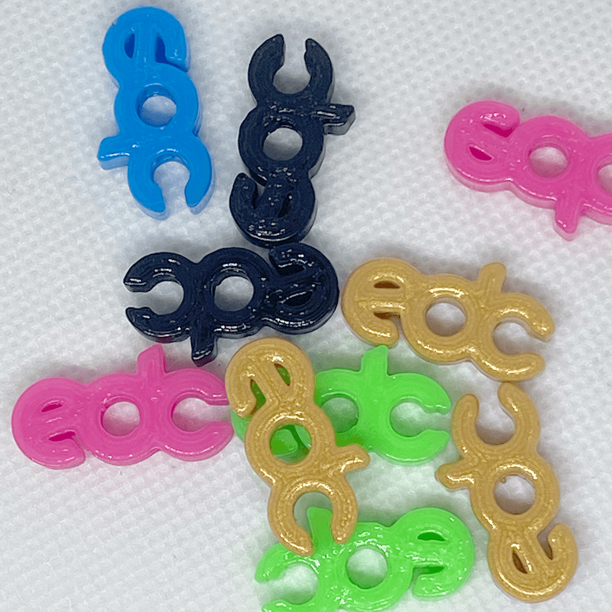 EDC | Charms | 10 pack - Kandi Family