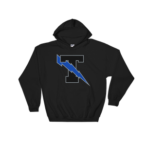 Elsinore Valley T Lightning Bolt Black Hoodie