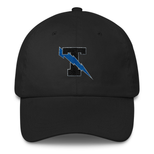 Thunder T lightning bolt classic dad hat