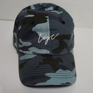 Camo Velcro Dad Hat