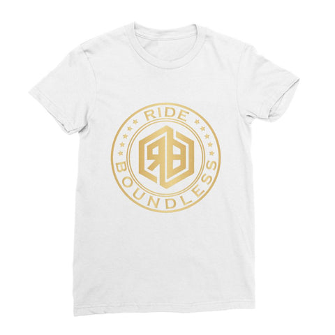 Ride Boundless Gold Women's Fine Jersey T-Shirt