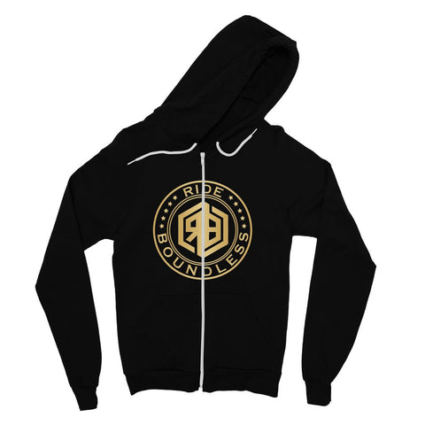 Ride Boundless Gold Fine Jersey Zip Hoodie