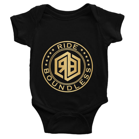 Ride Boundless Gold Baby Bodysuit