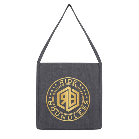 Ride Boundless Gold Tote Bag