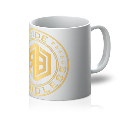 Ride Boundless Gold Mug