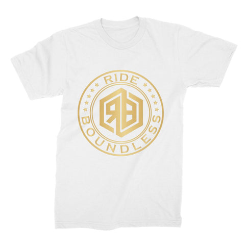 Ride Boundless Gold Unisex Fine Jersey T-Shirt