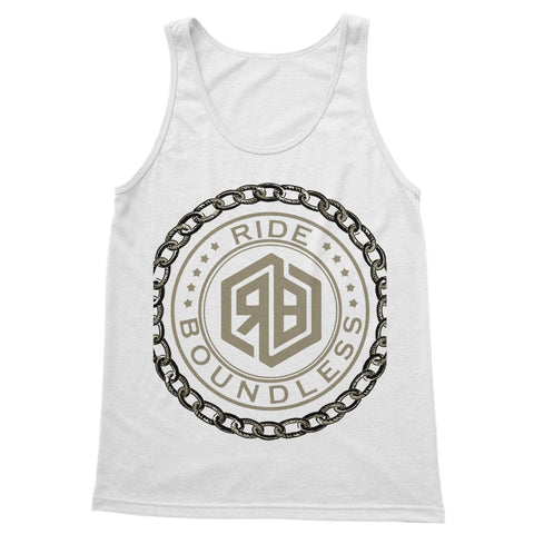 Chain and logo Softstyle Tank Top