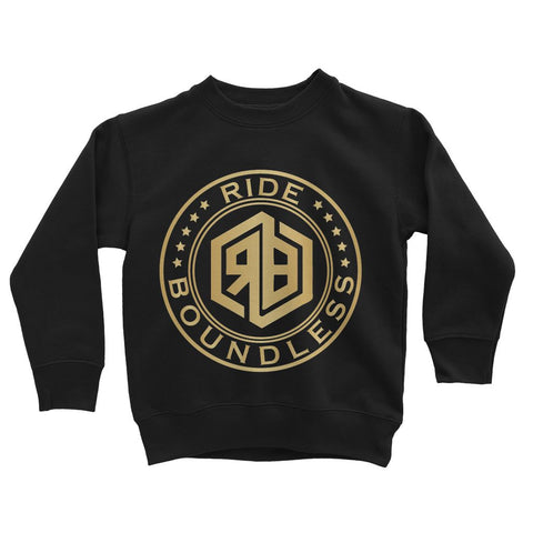 Ride Boundless Gold Kids' Sweatshirt