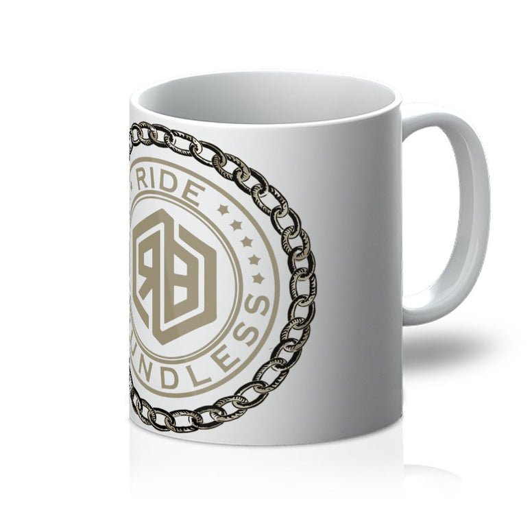 Chain and logo Mug