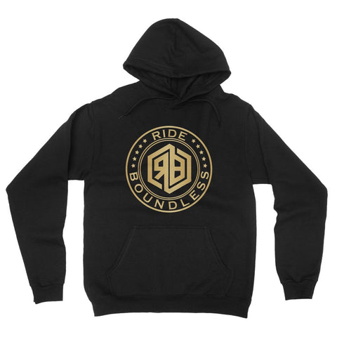 Ride Boundless Gold California Fleece Pullover Hoodie