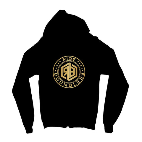 Ride Boundless Gold Kids' Zip Hoodie
