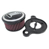 CNC Aluminum Motorcycle Air Cleaner Intake Filter Kits For Harley Davidson Sportster XL883 1200 2004-2014