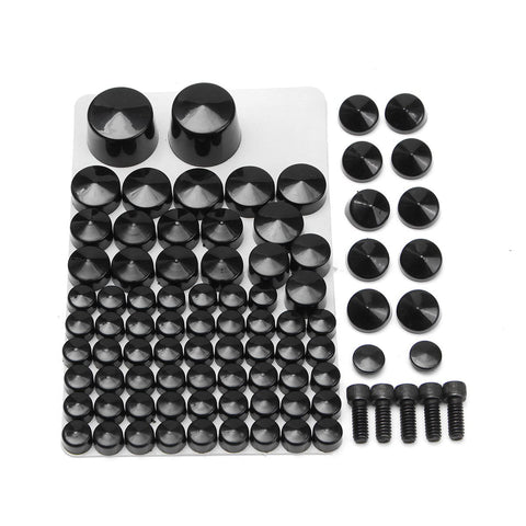 81 Pcs  Motorcycle Toppers Cover Bolts