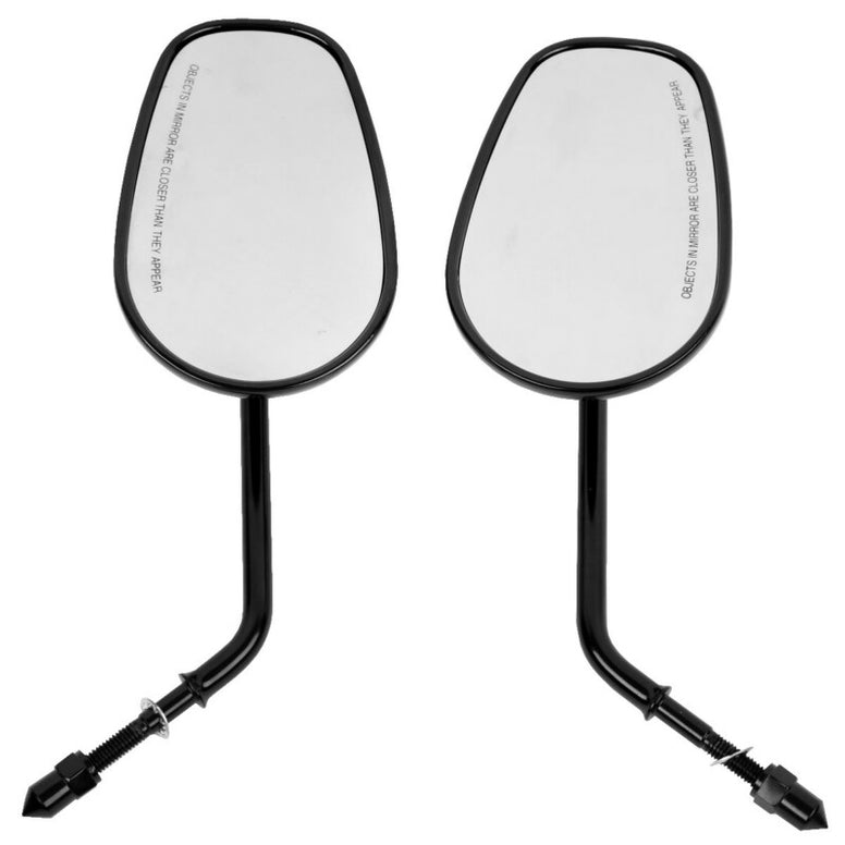 Harley Mirrors For Harley Road King Touring XL 883 SPORTSTER Road King Fatboy Softail Dyna Bobber Chopper Street Glide
