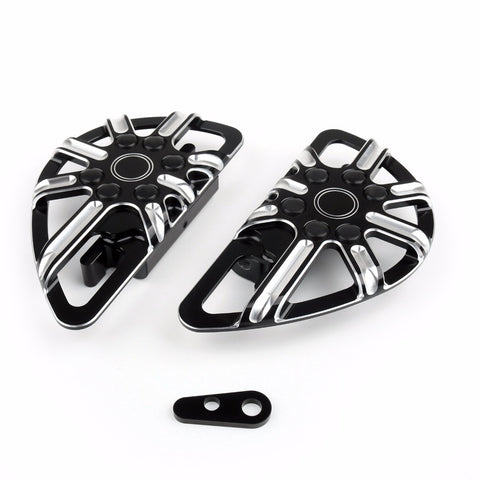 Motor Foot peg t Pedal  for Harley Touring Road Glide Road King Black CNC Aluminum Motorcycle Accessories