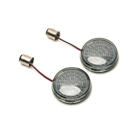Rear LED Turn Signal w/2 pcs Smoked Lens