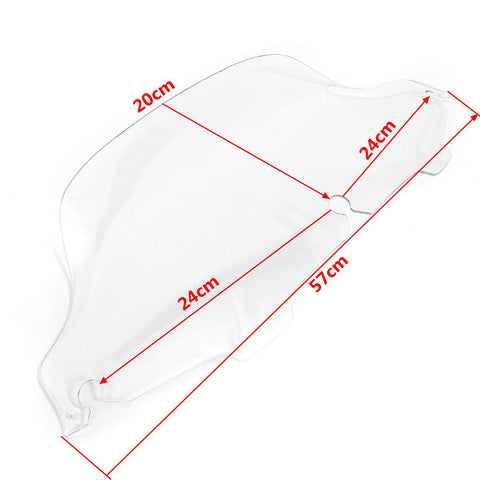 Wind Shield Air Deflector (Harley Touring)