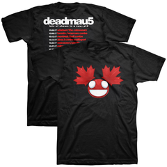 deadmau5 - Canadian Tour Tee