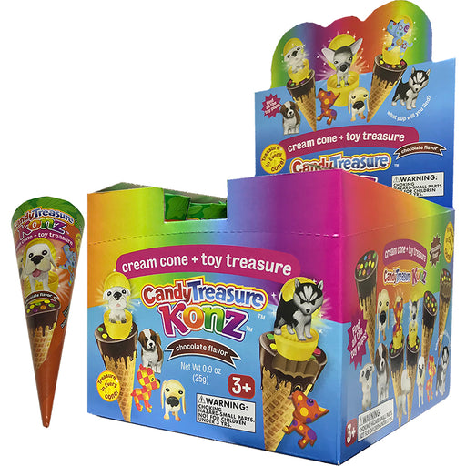 Candy Treasure Cream Cone Konz w/toy