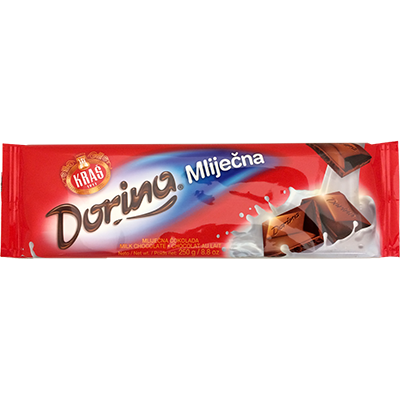 Kras Dorina Milk Chocolate Bar