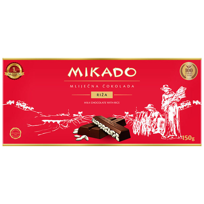 Zvecevo Mikado Rice Chocolate