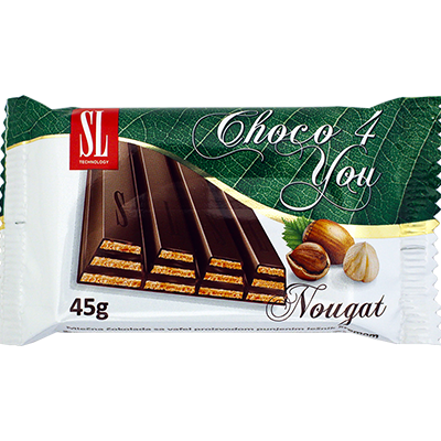 Takovo Choco 4 You Nougat Bars