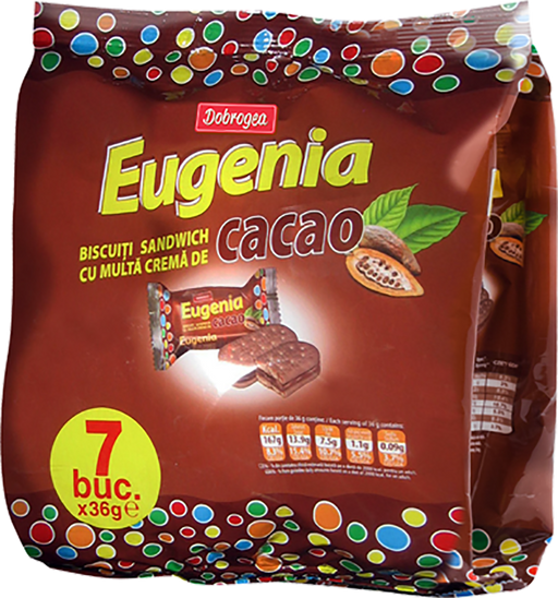 Dobrogea Eugenia Cocoa Biscuits