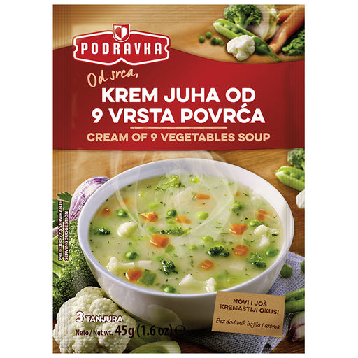Podravka Cream of 9 Vegetables Soup