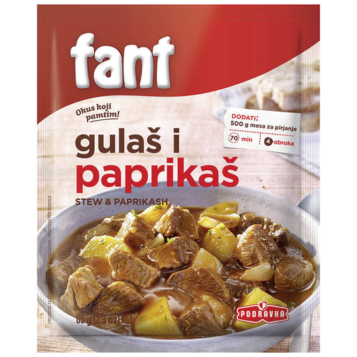 Podravka Fant Stew and Paprikash Seasoning Mix