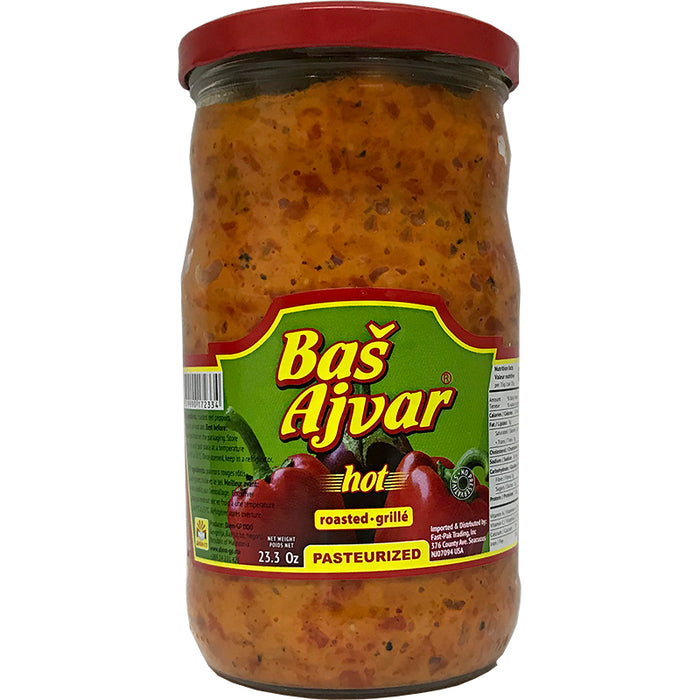 Bas Homemade Hot Ajvar