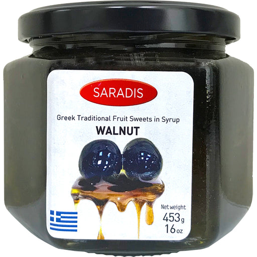 Saradis Walnuts in Sweet Syrup
