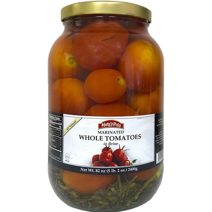 Marco Polo Marinated Whole Tomatoes in Brine