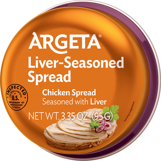 Argeta Chicken Liver Seasoned Spread