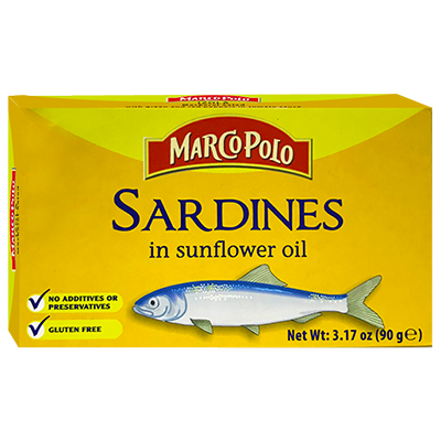 Marco Polo Sardines in Sunflower Oil