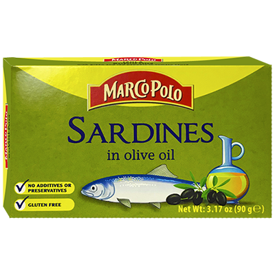 Marco Polo Sardines in Olive Oil