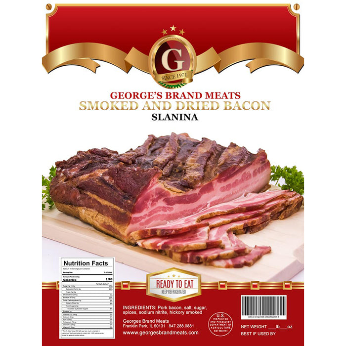 George's Smoked Bacon