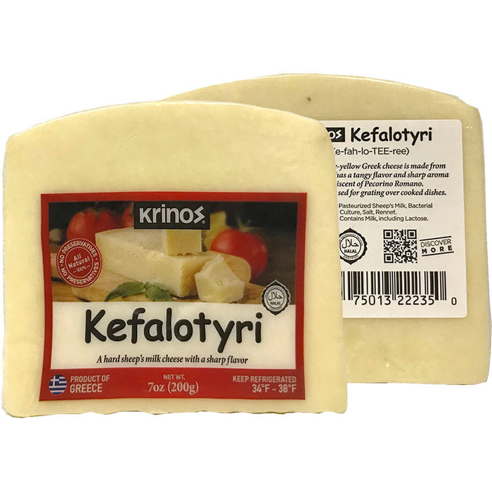 Krinos Kefalotyri Cheese Wedges
